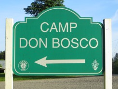5-21-14 - Camp Don Bosco Sign