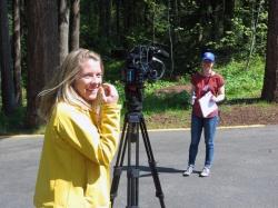 Alison Morrow Interviewing Kristen Reichardt - 2015 Envirothon